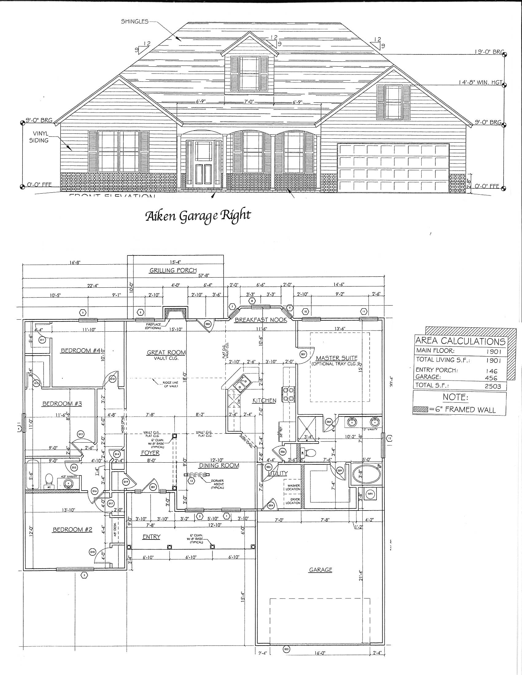 aiken floorplan