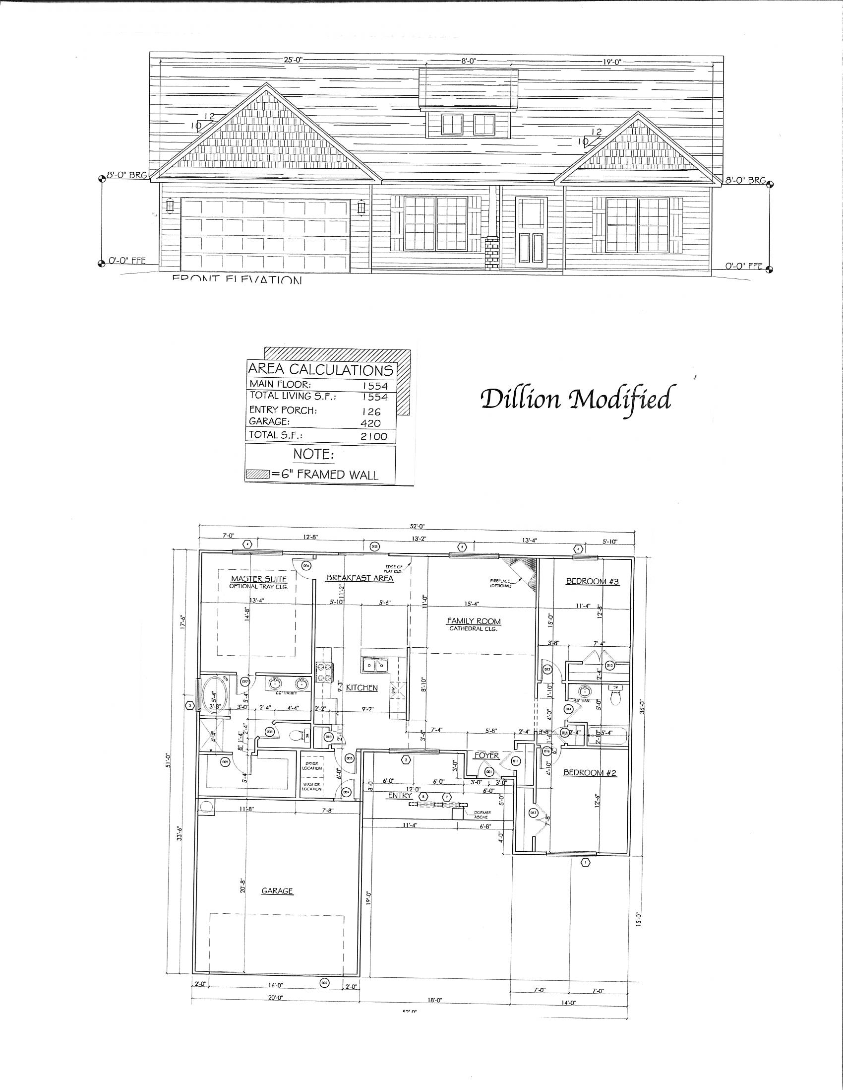 dillion modified floorplan