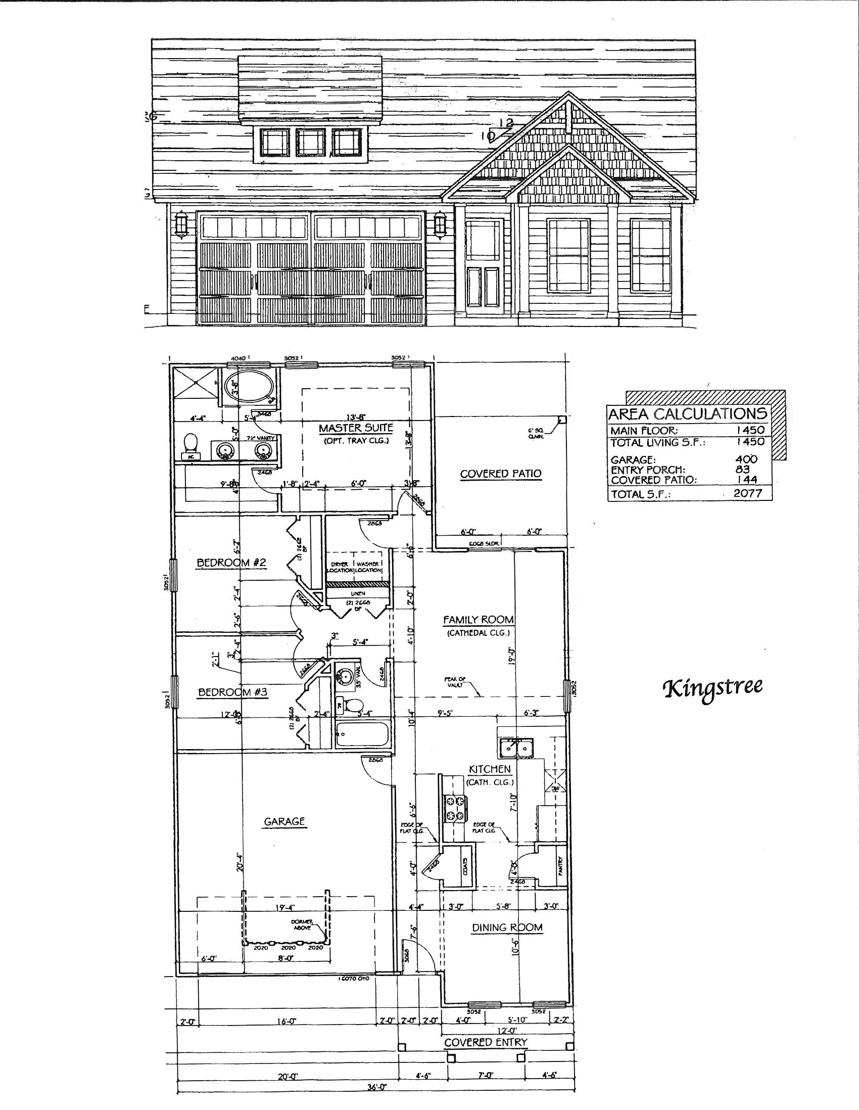 kingstree floorplan