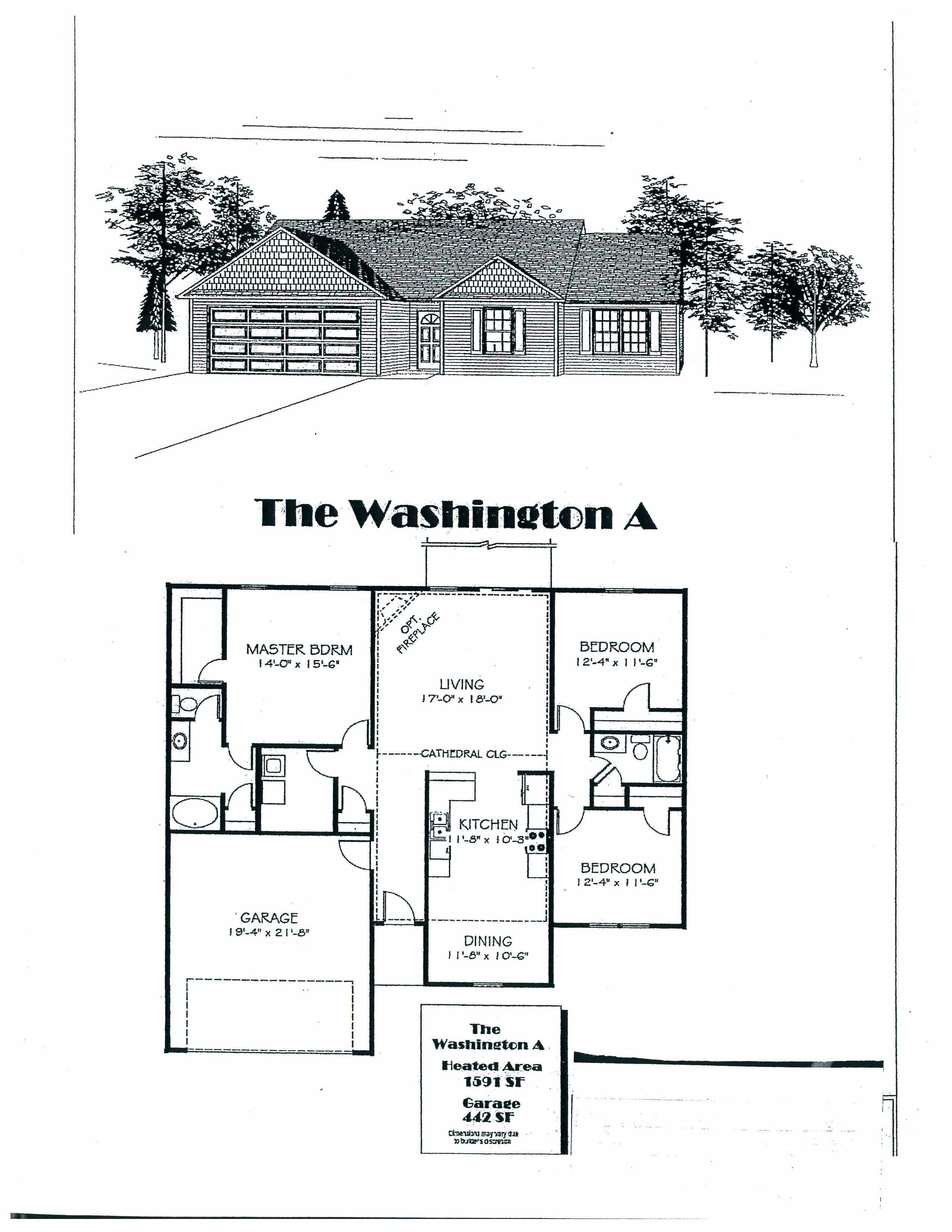 washington floorplan